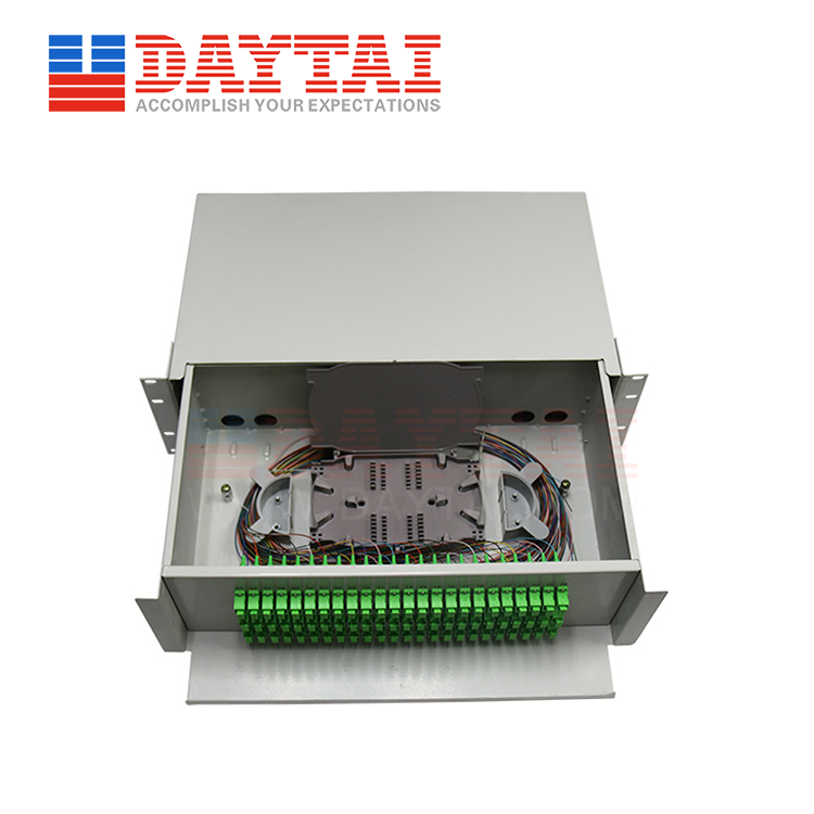 72 Core ODF Single Fiber-Drawer Type-(DT-ODF-72SF-DW3U)