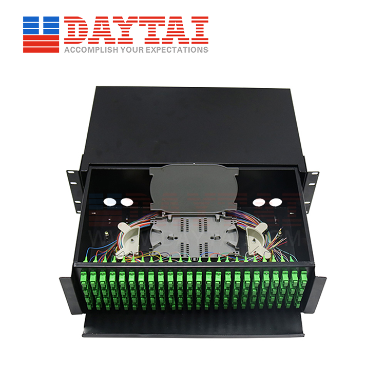 96 Core ODF Single Fiber-Drawer Type-(DT-ODF-96SF-DB3U)