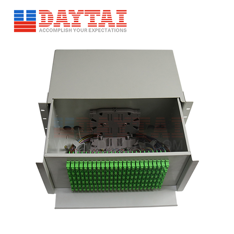 144 Core ODF Single Fiber-Drawer Type-(DT-ODF-144SF-DW5U)