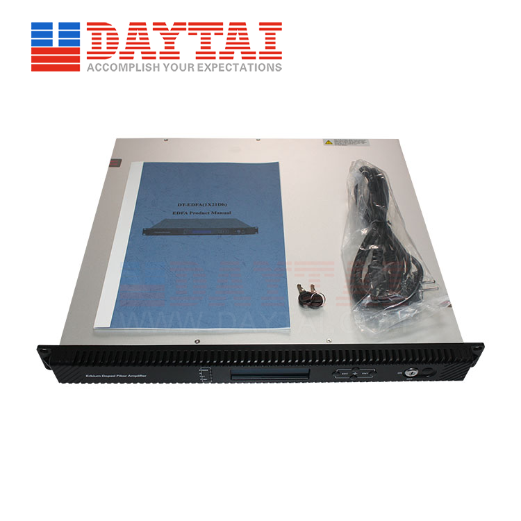 1 Way EDFA Optical Amplifier(DT-EDFA-1x XXdBm)-SC/APC-1U